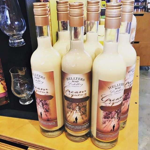 Cream Liqueur from Hellyers Road Distillery ~ article and photo for think-tasmania,.com ~ #drinks #Burnie #MakersWorkshop #Tasmania