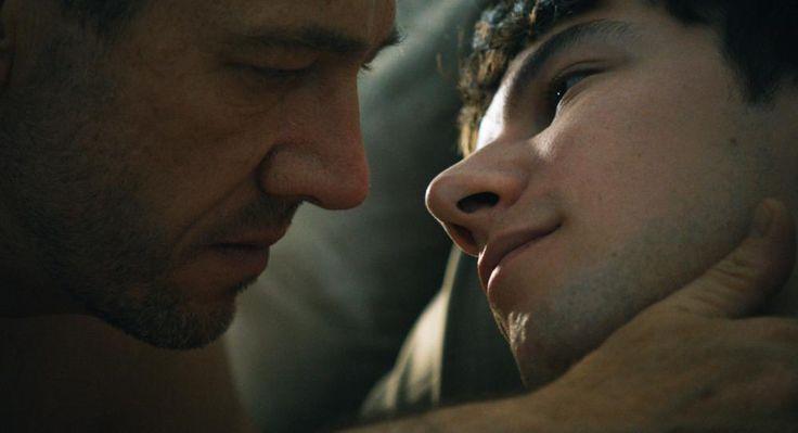 from left: Olivier Rabourdin, Kirill Emelyanov, 2013 | Essential Gay Themed Films To Watch, Eastern Boys  http://gay-themed-films.com/watch-eastern-boys/