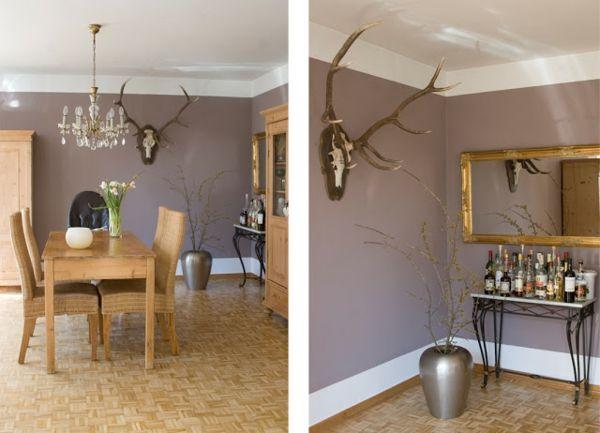 Die 25+ Besten Wandfarbe Taupe Ideen Auf Pinterest ... Wohnzimmer Ideen Taupe