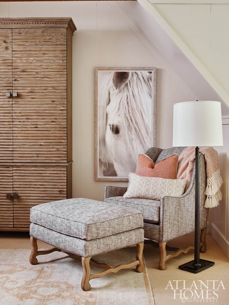 BB Heath And Associates // Upstairs Office At The 2015 Cashiers Designer  Showhouse