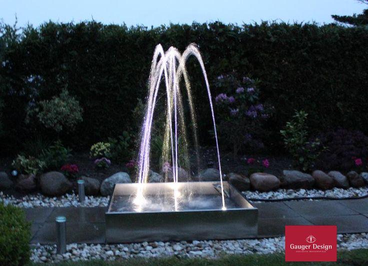 13 besten Gartenbrunnen von Gauger-Design Bilder auf Pinterest - gartenbrunnen modernes design