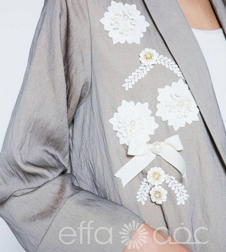 Artfully hand embellished with lace and ceramic flower applique. Shop online now! Visit : www.effa.ae/shop Call: +97143463998 Whatsapp:+97155 9248008 #effafashion #effaaldabbagh #dubaidesigner #fashion #dubaifashion #abayablogger #hijabfashion #hijab #abayas #dubaiabaya #uaeabaya #qatar #dubai #saudi #kuwait #riyadhabaya #saudistyle #online #shoponline #freeshipping #abayaonline #shopabayaonline #dubaifashion #designerabaya #modernabaya #vogue #premiumabaya #luxuryabaya