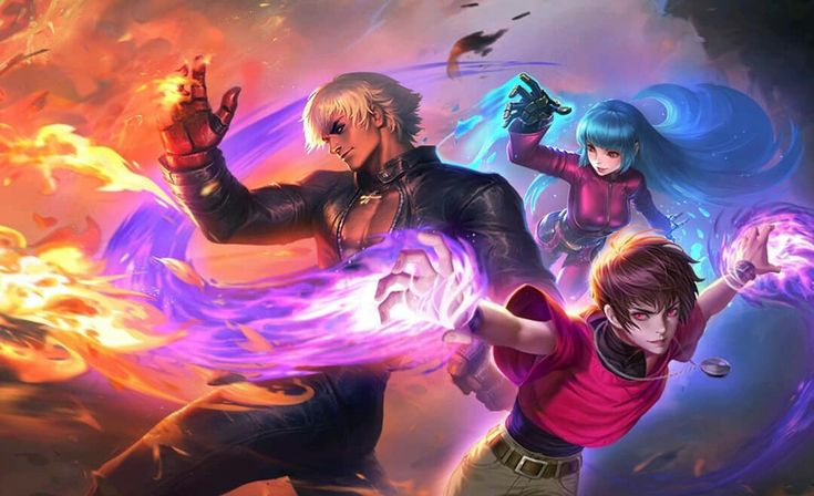 KOF X MLBB Upcoming Skin | Mobile legend wallpaper, Mobile ...