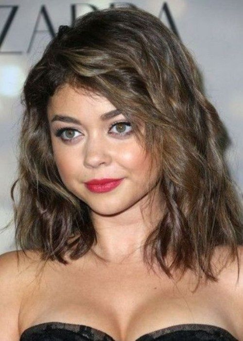 Shoulder Length Hairstyles 2017 For Round Faces : Images about hairstyles trend on