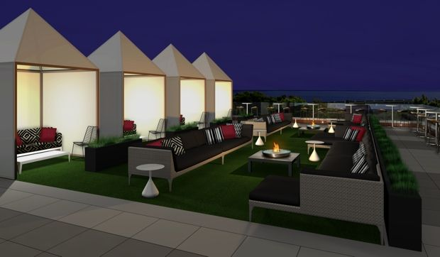 New Tampa area wedding venue The Birchwood with rooftop bar 8.26.13 contacted for $