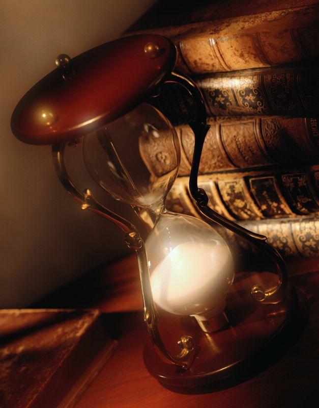 Antique Hourglass