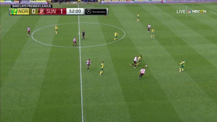 J. Defoe scores against Norwich City (0-2)