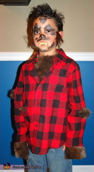 werewolf halloween costume contest via costumeworks - Halloween Costumes With Facial Hair