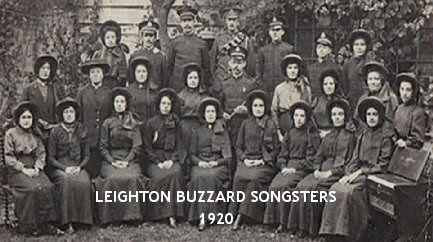 Leighton Buzzard Salvation Army - Songsters 1920