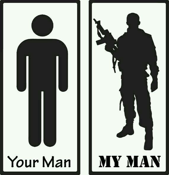I will take the man on the Left... I know how military men are. Trust me I know A LOT!!!!