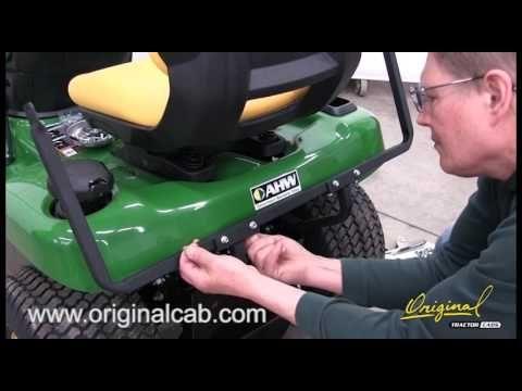 Original Tractor Cab 12070 Hard Top Cab Enclosure (2016)John Deere X300 ...