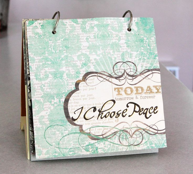 DIY Flip Book - Make flip books with inspirational quotes, photos of loved ones or calming images