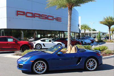 2013 Porsche Boxster S 2013 Porsche Boxster S 25,491 Miles Aqua Blue Metallic Convertible 3.4L 6 cyls
