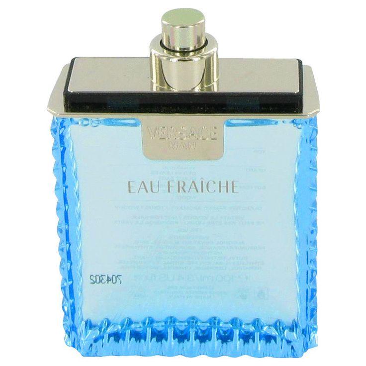 Versace Man by Versace Eau Fraiche Eau De Toilette Spray (Tester) 3.4 oz (Men)