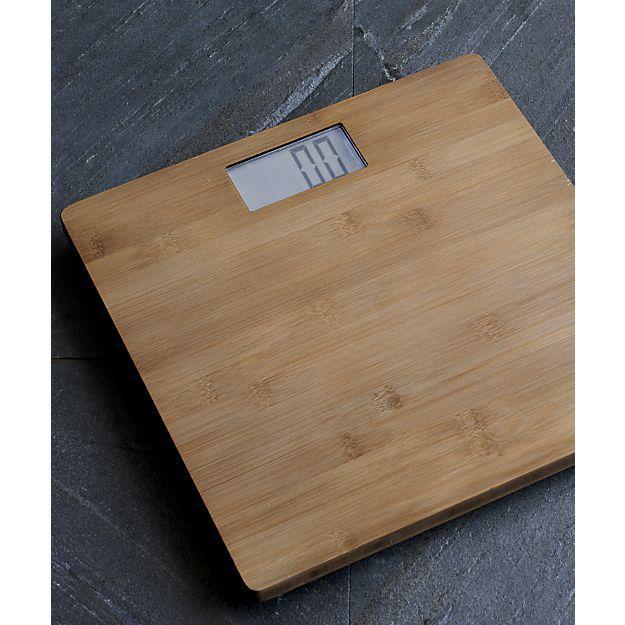 Dixon Bamboo Bath Scale