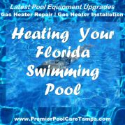 Yes, even pools in Florida get cold and you may find that you need to heat your pool so you can enjoy it all the time.