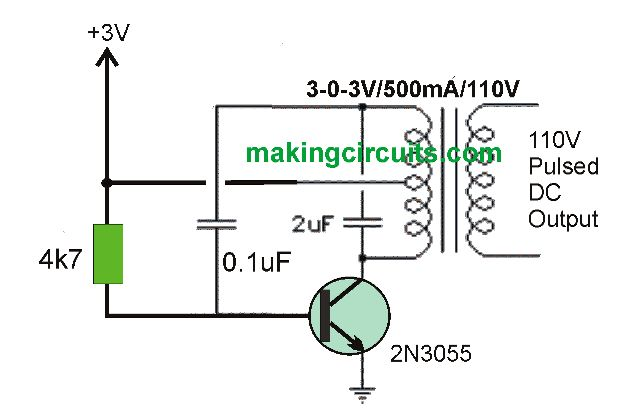 The Proposed 3v To 110v 0r 220v Circuit Listed Below Is Actually A Dc To Dc Converter Having A