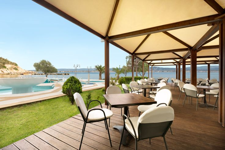 What could be greater than enjoying your morning coffee by the pool and with such a stunning view of the Corinthian Gulf?