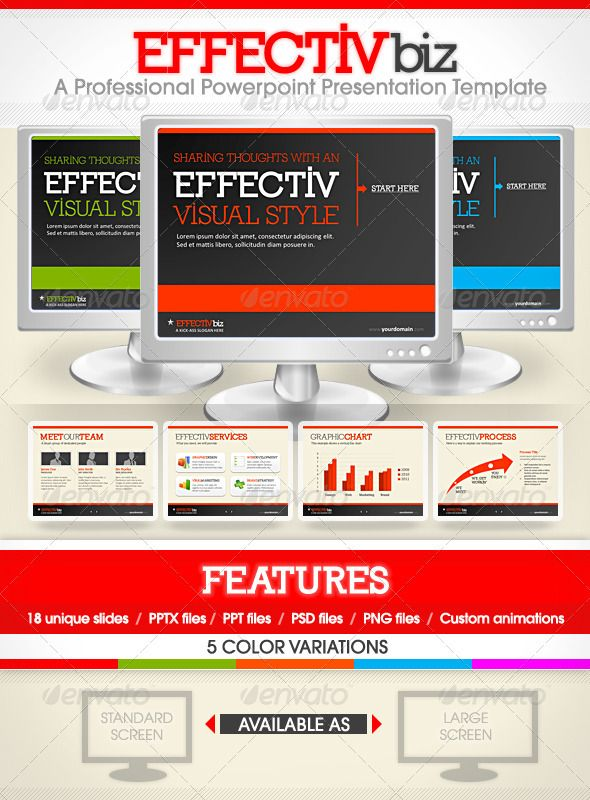 EFFECTIVbiz - Professional PowerPoint Presentation - GraphicRiver Item for Sale