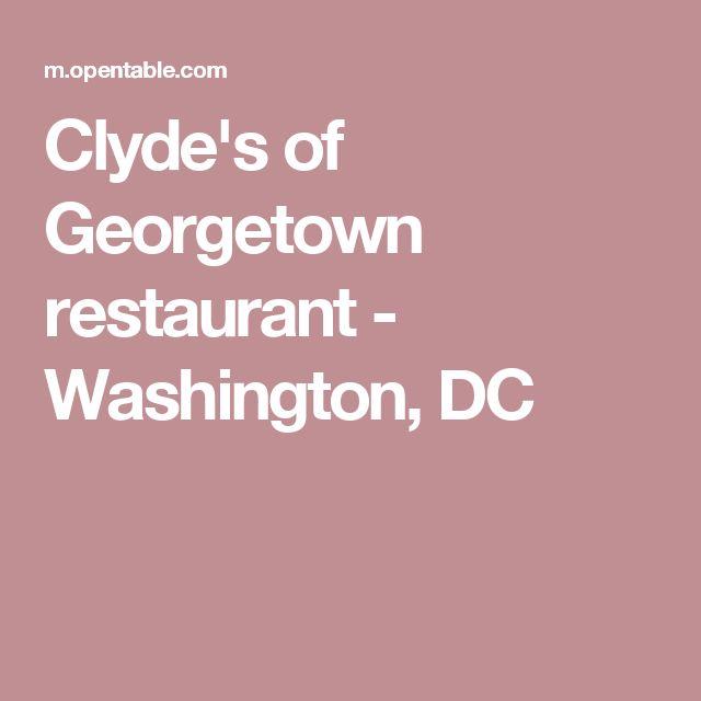 Clyde's of Georgetown restaurant - Washington, DC