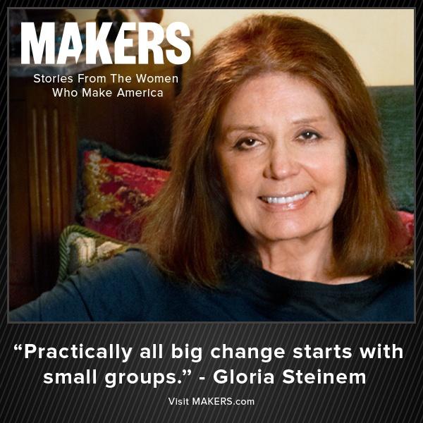 Gloria Steinem is a Feminist Activist