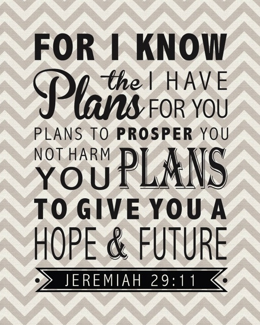 jeremiah 29:11 need this reminder daily