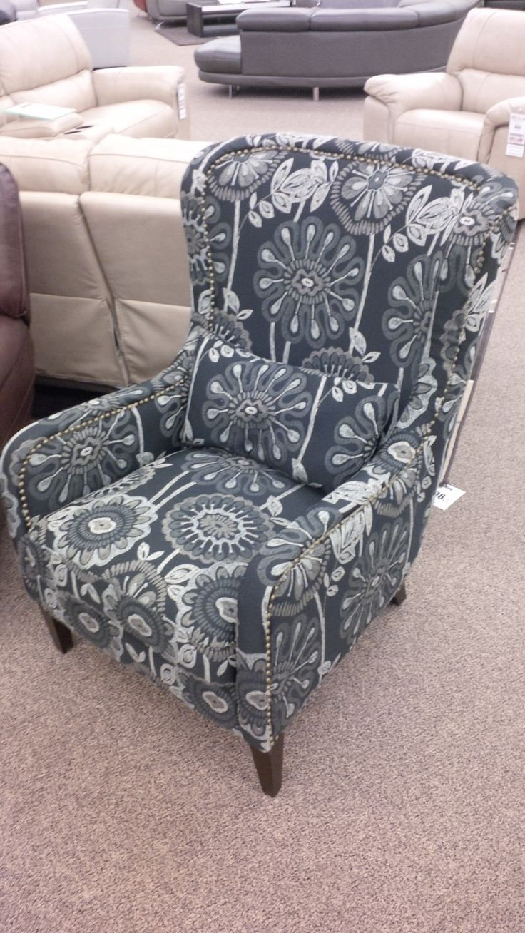 Can you believe that this chair is only $499? I know I can't! The Karli chair is stocked as shown, or available to order in other fabrics.