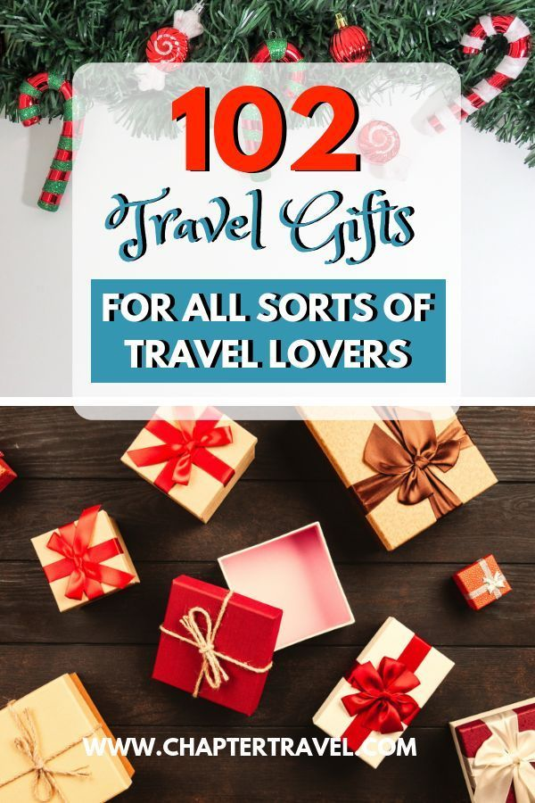Get Ready For Christmas With These 102 Best Travel Gifts For Travel Lovers Best Travel Gifts Gift Guide Travel Travel Gifts
