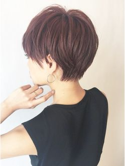 【ALBUM渋谷】NOBU_ピンクアッシュショート_4766