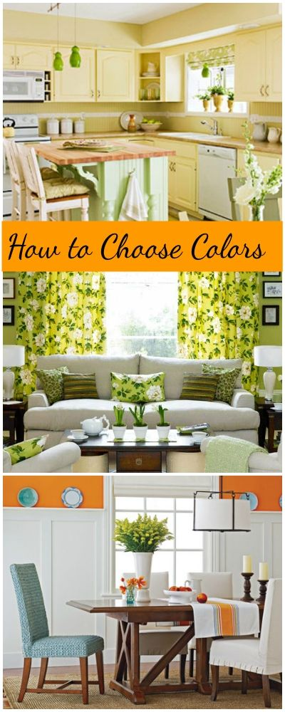 Home Decorating • How to Choose Colors • Tips & Ideas!