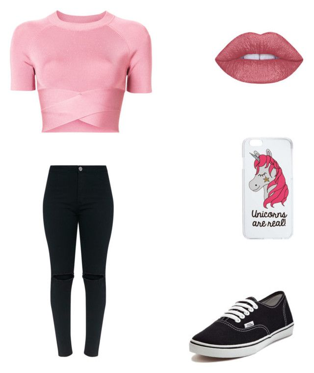 Bez tytułu #87 by wiki208 on Polyvore featuring moda, T By Alexander Wang, Vans and Miss Selfridge