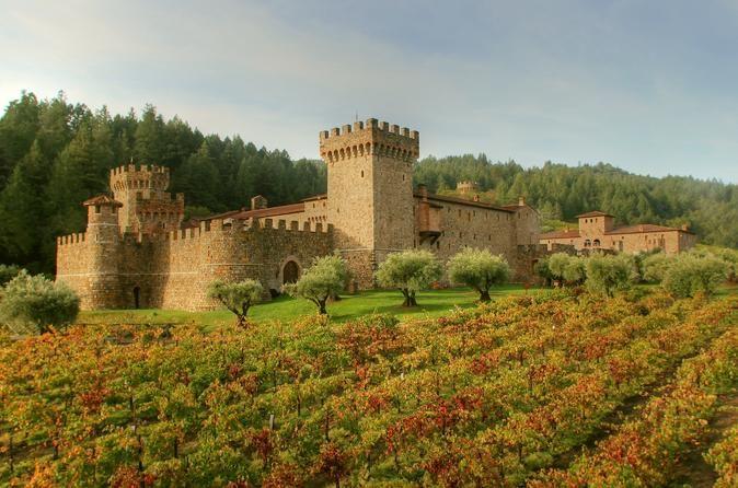 Napa Wine Tour From San Francisco with Castello Di Amorosa Including Lunch - TripAdvisor
