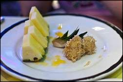 The Buccaneer's Sun-Ripened Pineapple  Recipe from the Pirates IN the Caribbean Dinner,  Disney Cruise Line
