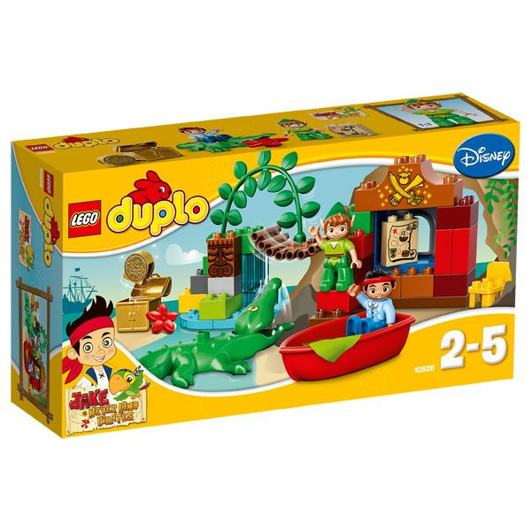 10526-Duplo Jake et Peter Pan