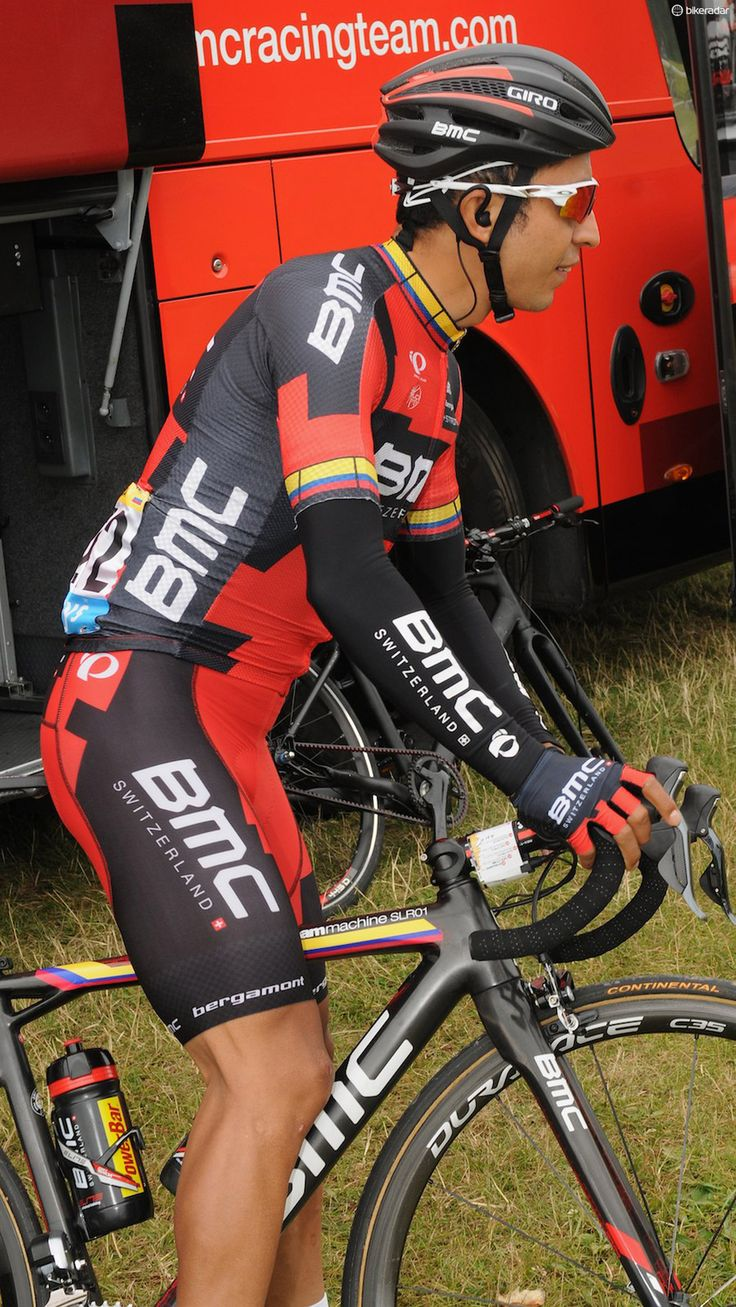 Tour tech: BMC embraces riders' nationalities | The World Cup may be over, but national pride lives on at the Tour! Darwin Atapuma, pictured before he unfortunately crashed out with a broken leg, showing how his jersey matches his frame design Photo: © Robin Wilmott / Future Publishing
