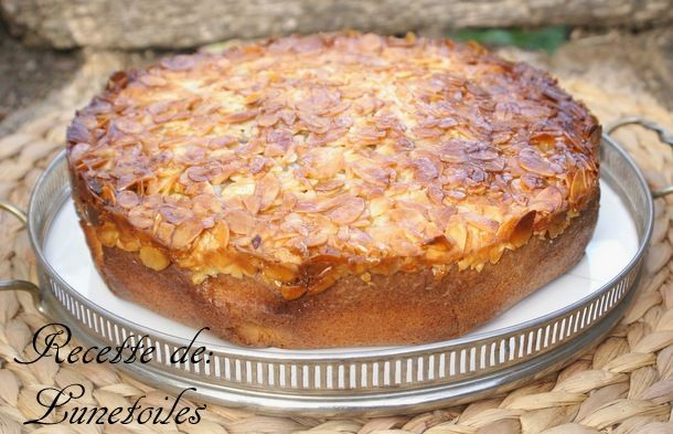 gateau suedois aux amandes, Toscatårta - Amour de cuisine