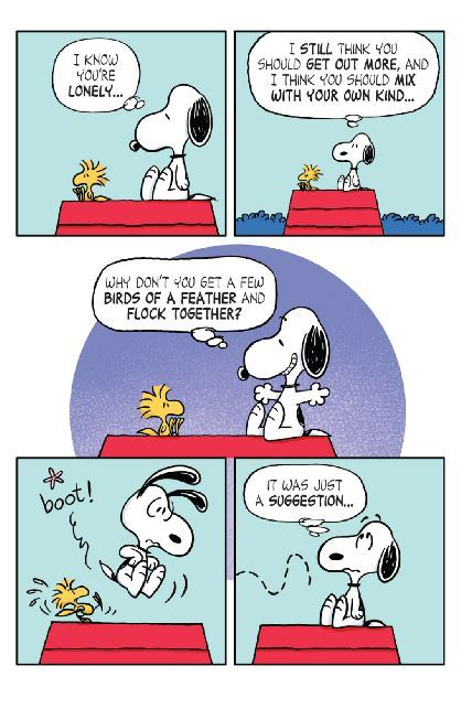 No matter how hard Charlie Brown looks, he cannot find a single story worth writing about for his school newspaper assignment. Luckily, Lucy is on the case and she has found the perfect solution--when you can't find a story to tell, you have to make life tell the story you want!!