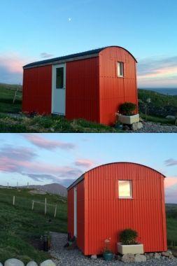Shepherd's Hut at Mangersta Croft Wigwams - Mangersta Croft Wigwams