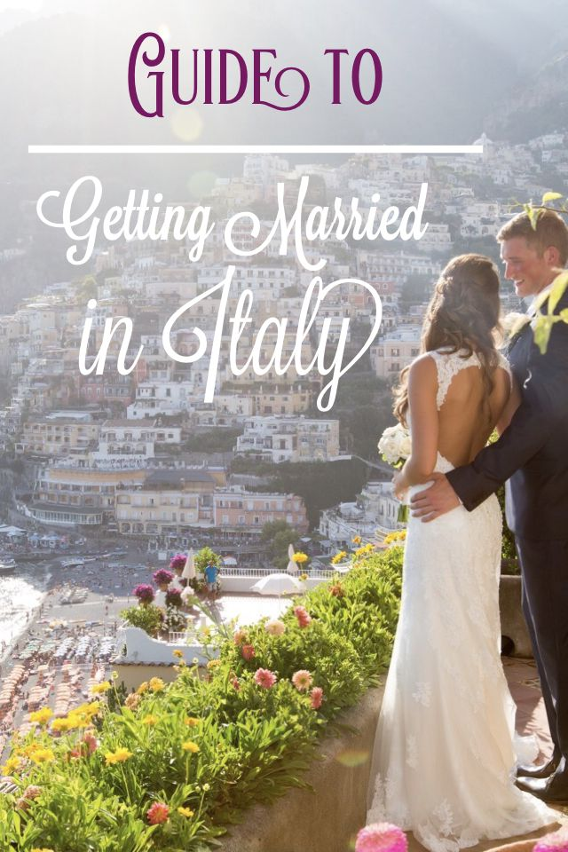 Step by step guide for legally getting married in Italy!