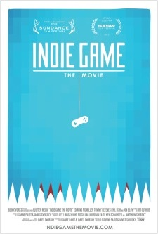 Film - Indie Game: The Movie - A Video Game DocumentaryIndie Games,  Dust Jackets, Videos Games, Movie 2012, The Games,  Dust Covers, Games Design, Book Jackets,  Dust Wrappers