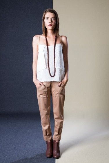Chain Top and Sunday Trousers