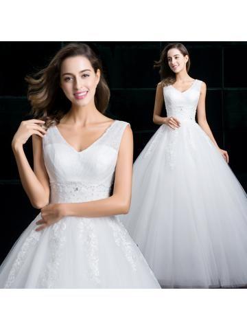 tule baljurk bruids trouwjurken