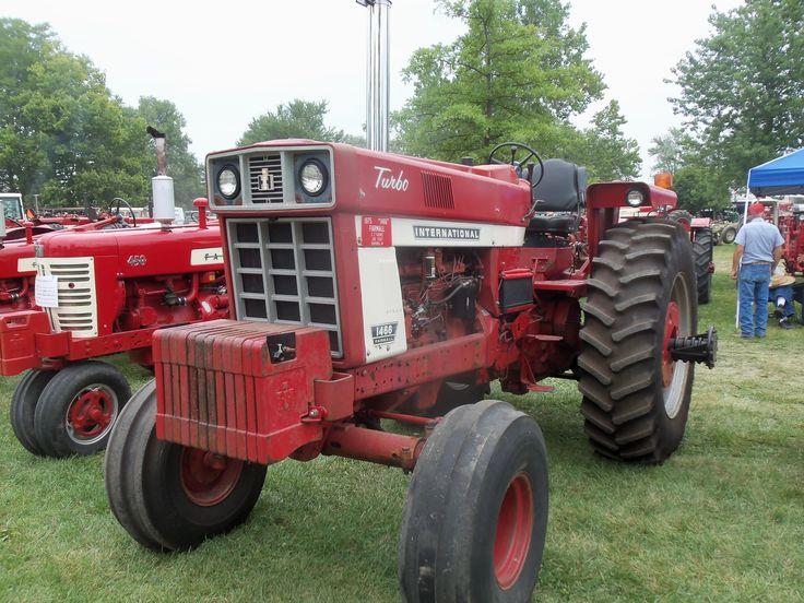 International 1466 Pulling Tractor : Hp international farmall