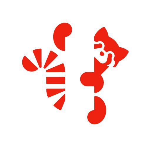 Red panda http://logo.pizza/