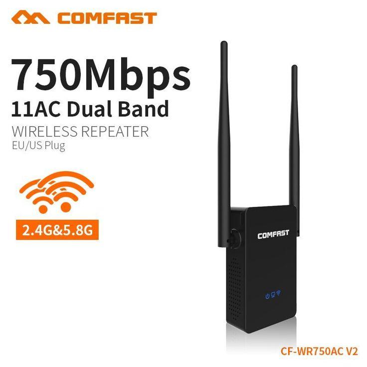 Wireless-n <b>5ghz</b> wifi router 750Mbps wifi amplifier <b>dual band</b> ...
