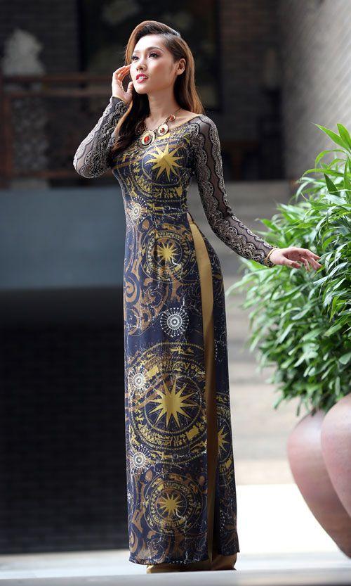 Thái Tuấn ra mắt bộ sưu tập áo dài mới - Thai Tuan ra mat bo suu tap ao dai moi | dddn.com.vn