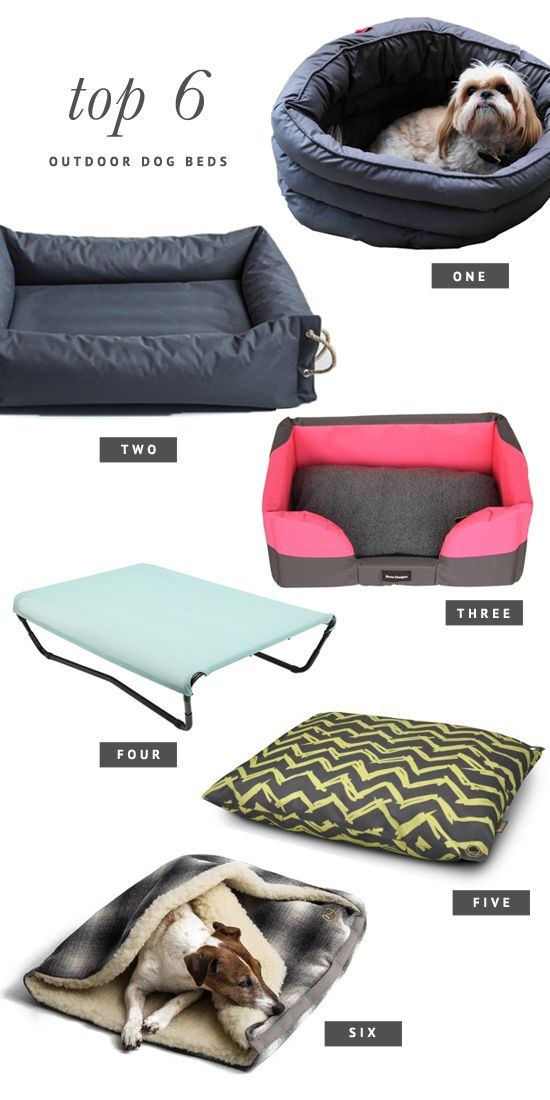 6 of the BEST Outdoor Dog Beds | Pretty Fluffy