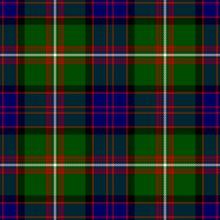 My tartan: Macdonald of clan Ranald.