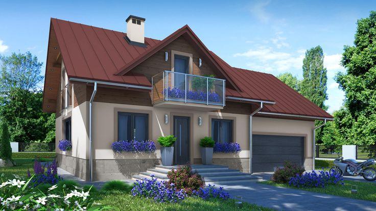 Projekat. Kuća Lavanda na sprat | KucaSnova.com