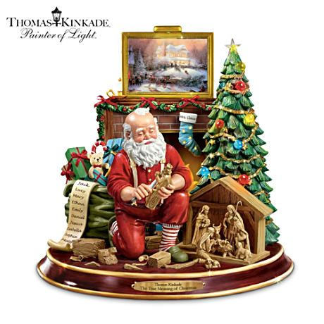 The True Meaning Of Christmas Tabletop Centerpiece $99.99 #ArtOfGiving #Christmas
